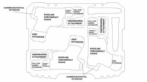 small resolution of pistol foam design diagram