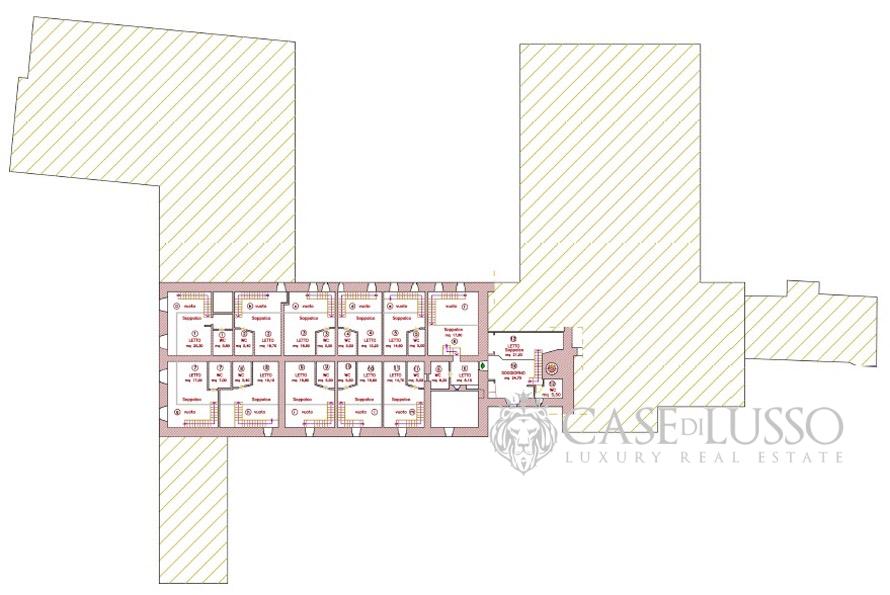 Antica abbazia finemente ristrutturata  Case di Lusso