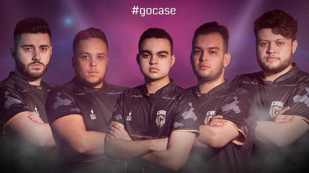 Presentación de la camisa del equipo de esports Case Esports