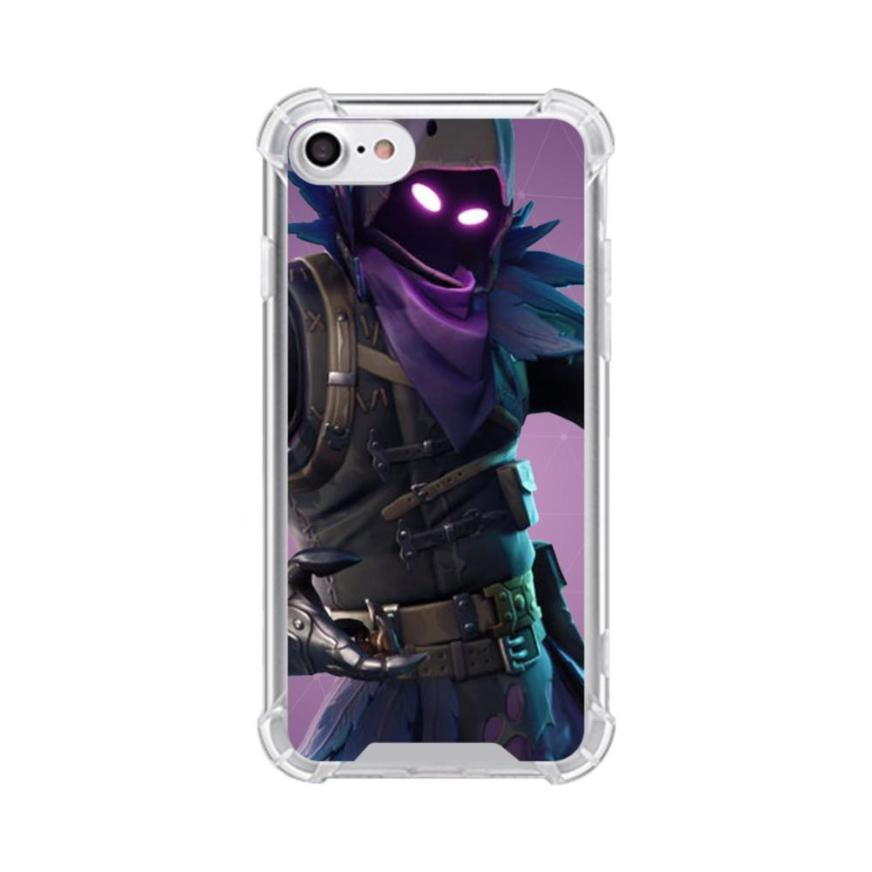 Fortnite Raven Outfits iPhone 7 Clear Case | CaseFormula