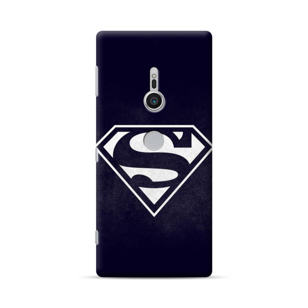 black superman logo sony