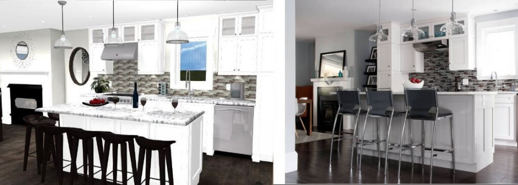 interior design for new renovation on old home