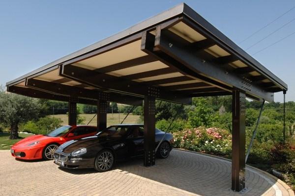 Carport in legno - 03
