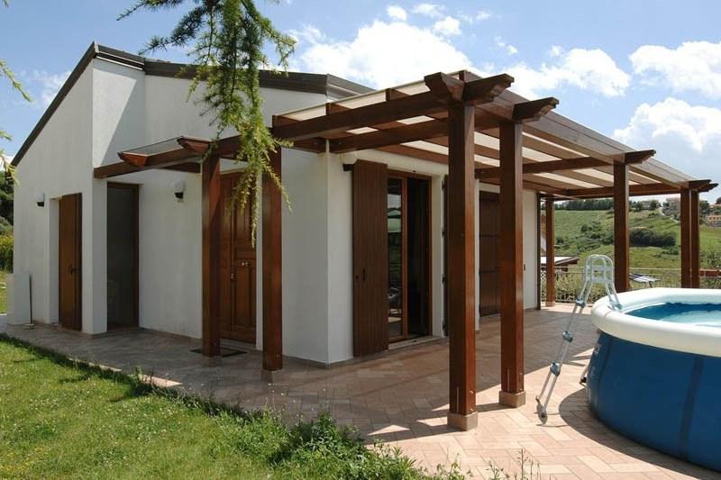 Case in legno fino a 100 mq a lucca e toscana la pergola for Casa in legno 100 mq