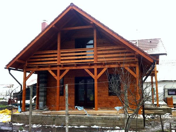 Proiect Casa de Lemn Model PCL14  BARAT System