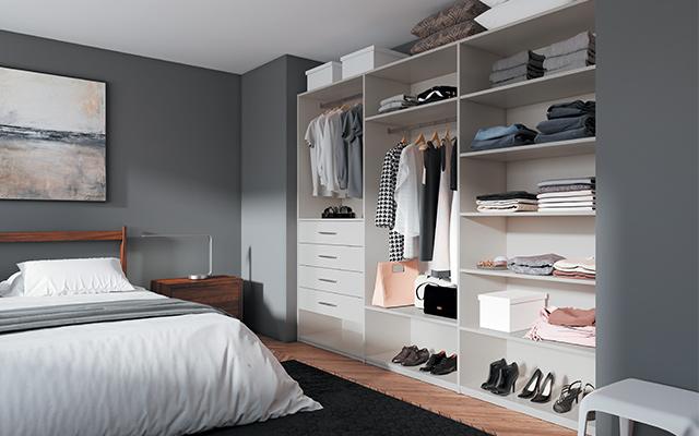 amenager sa chambre avec dressing