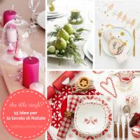 15 idee per la tavola di Natale