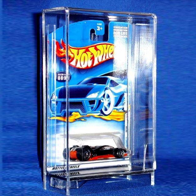 Protech Acrylic Car Case For Carded Hot Wheels Casepros Com