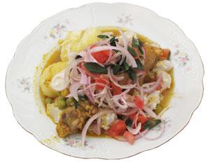 Sajta de pollo  Recetas  Cocina boliviana