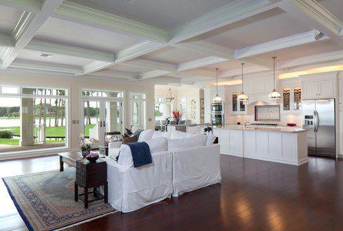 Decor Ideas For Open Floor Plans Case DesignRemodeling Of San Jose