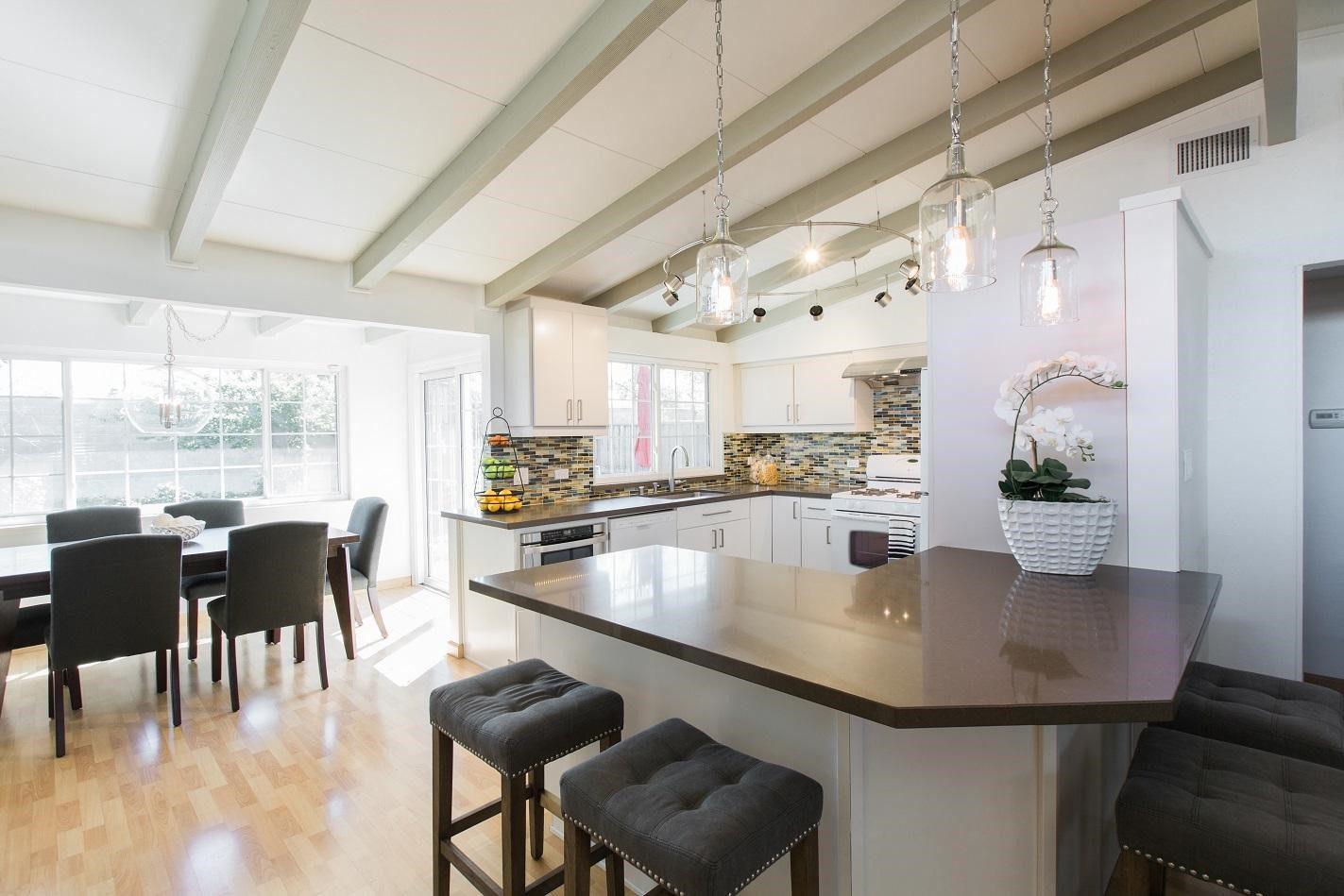 pendant lights for kitchen island whirlpool appliance package decor ideas open floor plans | case design/remodeling ...