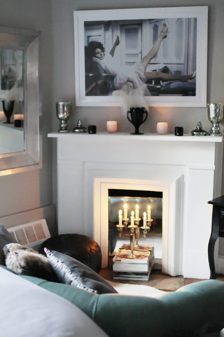 Faux Fireplaces Are Perfect Spot to Relax  Case Design