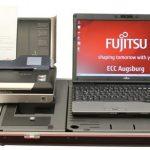 Kofferlösung mit mobilen AiO und Fujitsu Notebook