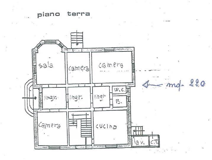 Vendita Villa liberty con dependance e affreschi a Marina di Pisa