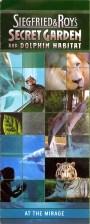 Siegfried & Roy's Secret Garden and Dolphin Habitat — Brochure