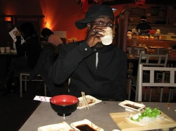 A picture I took in 2007 at a birthday party at Maki Maki in Mississauga, ON