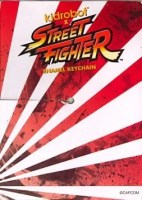 BiSC and Las Vegas 2013 — Cosmopolitan — Kid Robot — Street Fighter Enamel Keychain — Cardboard Backing