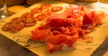 BiSC and Las Vegas 2013 — The Shoppes at the Palazzo — Otto Enoteca — Proscuitto and Dried Salami