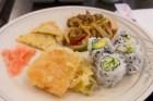 Scarborough Dishcrawl II — Gu-Mi — Vegetable Tempura, California Rolls, Avocado Rolls, Chicken Teriyaki, Korean Pancake
