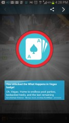 BiSC and Las Vegas 2013 — Foursquare — What Happens in Vegas badge