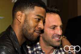 #FordNAIAS 2014 — Day 2 — Cobo Hall — Behind the Blue Oval — Need for Speed Screening — Scott Mescudi (aka Kid Cudi) and Scott Waugh — Close-up