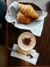 Monthly WrapUp — May — Patisserie la Cigogne — Croissants and Hot Chocolate