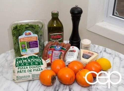 Persimon® Says — Persimon® and Chorizo Pizza — Ingredients