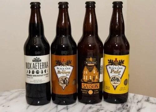 The 2015 100 #1 - Black Oak Brewery Beers