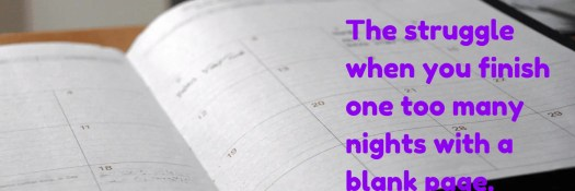 32 Things I Know Now That I'm 32- 11 — What Happens When You Overpromise and Underdeliver — The struggle when you finish one too many nights with a blank page