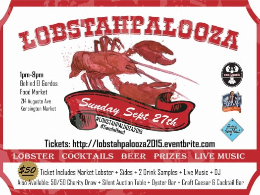Stop Being So SHELLFISH! #LobstahPalooza2015 — An Adventure in Atlantic Ambrosia! — Lobstahpalooza Ad