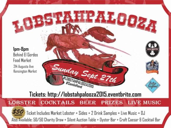 Stop Being So SHELLFISH! #LobstahPalooza2015 — An Adventure in Atlantic Ambrosia! — Lobstahpalooza Ad