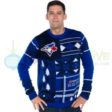 The Week That Was... October 11-17, 2015 — Retro Festive — Toronto Blue Jays Ugly Christmas Sweater