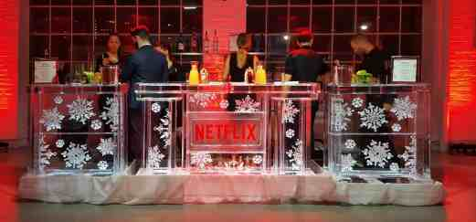 The Month That Was... November 22nd - December 26th, 2015 — NetfliXmas — The Netflix Ice Bar