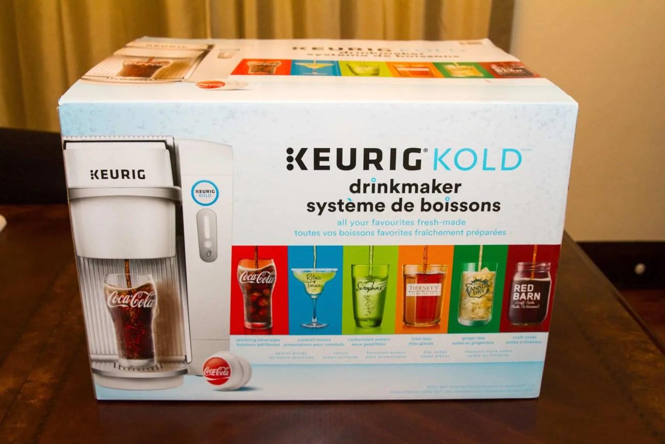 The Month That Was... November 22nd - December 26th, 2015 — Team Trolling Christmas — Keurig Kold — The Keurig Kold Boxed in Casa de Palmer