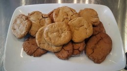 The Cookina Parchminum — The Mouthful Making it Easier to Make Stuff for Your Mouth — Warm Fresh Baked Ginger Snap Cookies Baked on Parchminum