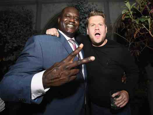 What's Up With Apple? A Look at What Goes on BEHIND the Screens! — Carpool Karaoke The Series — James Corden and Shaquille O'Neal