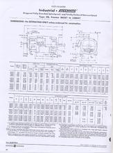 50 HP, 500/1800 RPM, 240V, GENERAL ELECTRIC, CD506AT