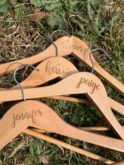 Bridal Party Wedding Hangers
