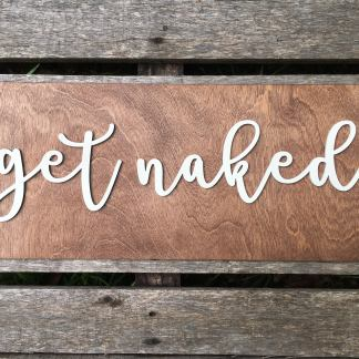 Get Naked Rustic Decor