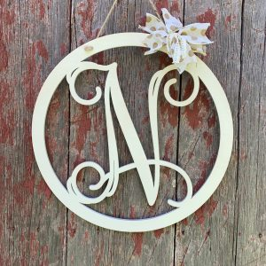 Monogram Door Hanger