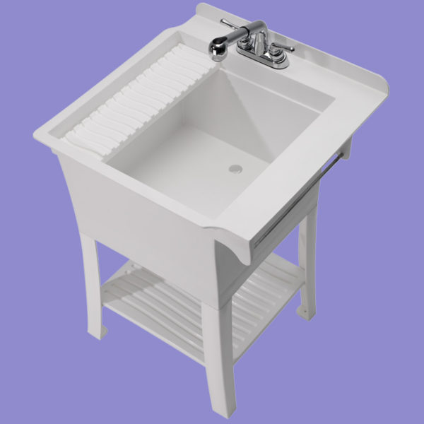 Utility Sink with Faucet  Maddox Utility Sink Kit