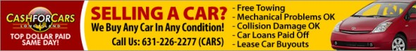 Cash For Cars, Sell Car, Junk Car 631-226-2277