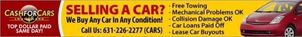 CAR for CASH, Sell Car, Junk Car 631-226-2277