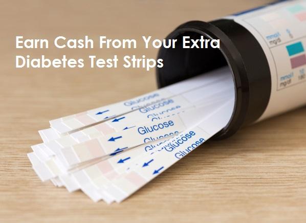 Money for diabetic strips