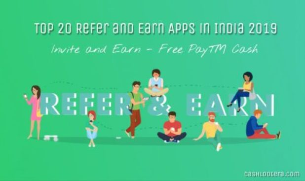 Best apps to refer and win in India