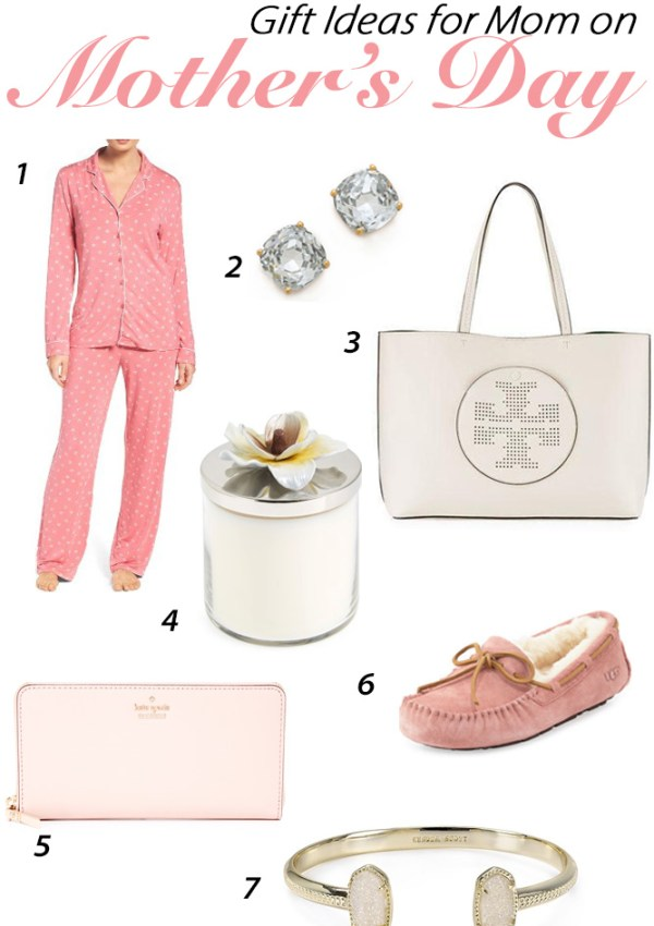 Gift Giving Ideas for Mom on Mother's Day