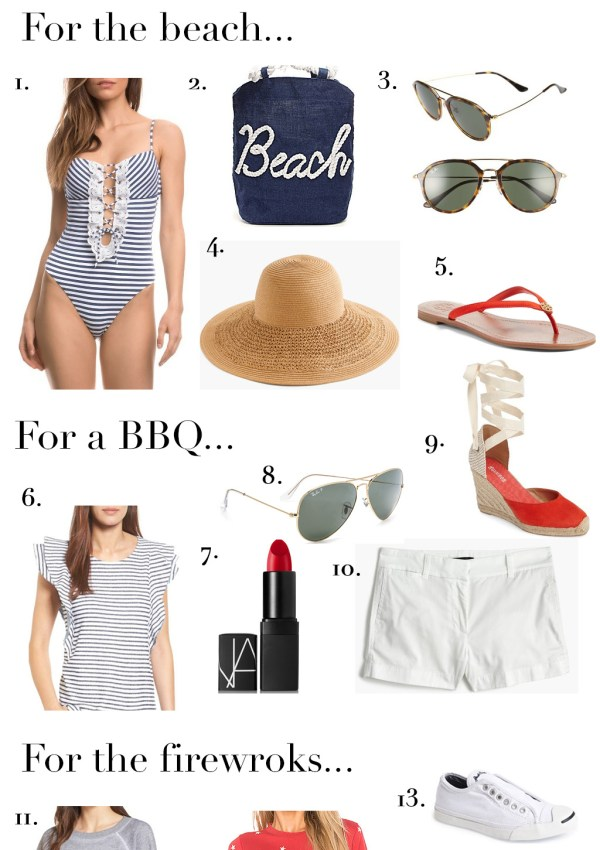 Outfit Inspiration for the 4th