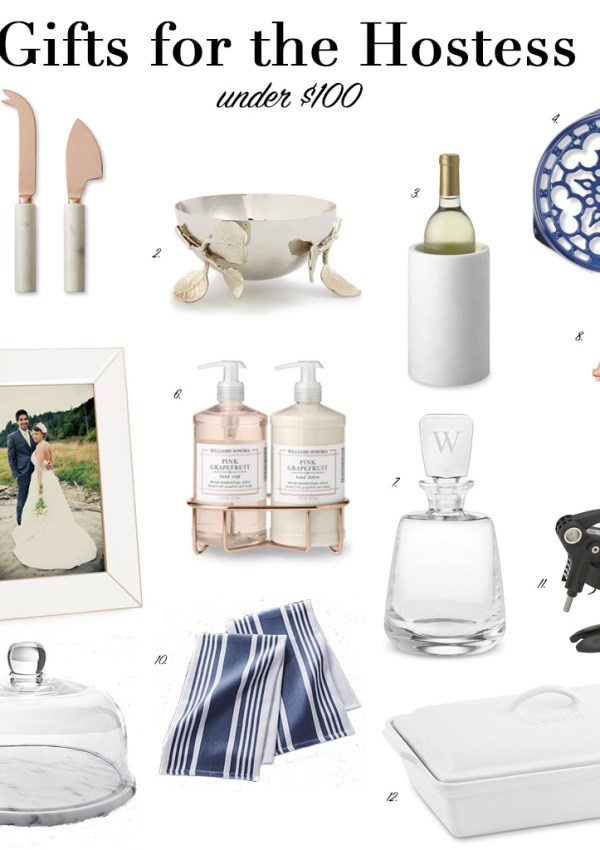 Gifts for the Hostess Under $100