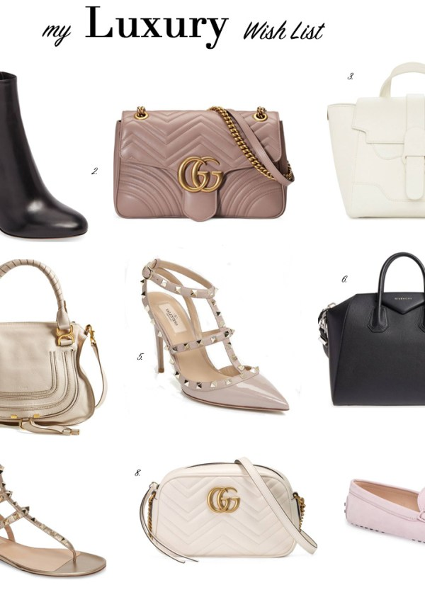 My Luxury Wish List for Christmas