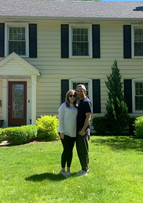 we bought our first home